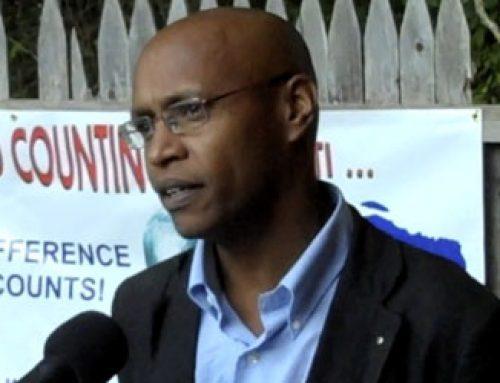 Pwofesè Jean-Marie Théodat ap palè sou Vizyon ak Objektif pou Rebati Ayiti